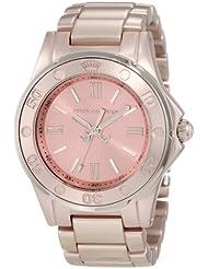 Juicy Couture Womens 1900889 RICH GIRL Rose Gold Aluminum Bracelet Watch