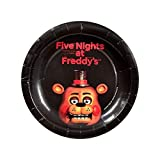 "Five Nights at Freddy's 7"" Cake Plates (8 Pack)"
