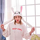 IronBuddy Rabbit Hat Ear Moving Jumping Hat Funny
