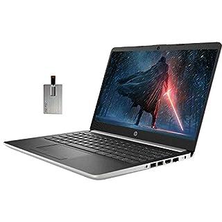 "2020 HP Pavilion 14"" HD Touchscreen Laptop Computer, AMD Ryzen 3-3200U Processor, 8GB DDR4 RAM, 256GB SSD, HD Audio, AMD Radeon Vega 3 Graphics, HD Camera, HDMI, Windows 10 S, Silver, 32GB USB Card"