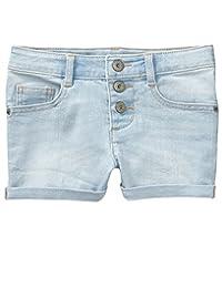 Crazy 8 Pantalones Cortos de Mezclilla básica con 5 Bolsillos para niñas