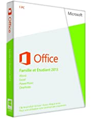 Office Home and Student 2013 French (1PC/1User) (PC Key Card)