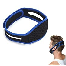 Anti Snoring Snore Stopper Chin Jaw Strap Supporter Sleep Improving Belt Brace By Scshop