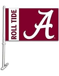 BSI NCAA Louisiana Lafayette Ragin' Cajuns Car Flag with Wall Brackett, One Size, Camo