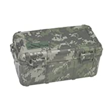 Cigar Caddy Quality Importers 3540 15 Cigar Waterproof Travel Humidor, Digital Camouflage Exterior