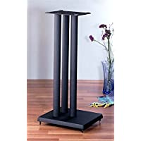 RF series Heavy Duty Speaker Stand in Black - Set of 2 (36 in. H (30 lbs. pair))