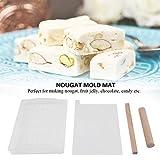 DIY Handmade Nougat Mold Tools Tray Set Silicone
