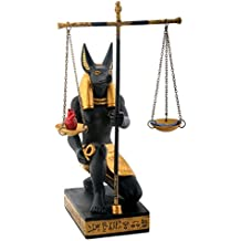 Black and Gold Anubis Scales of Justice