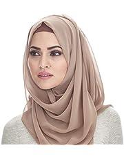 شالات شيفون - طرحة - حجاب - خمار - ماليزي