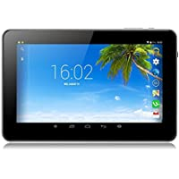 Tiptiper EU plug 9 inch Android Tablet PC A33 Quad Core 16GB 1.5GHz 1080P TFT Screen White With Wifi Bluetooth