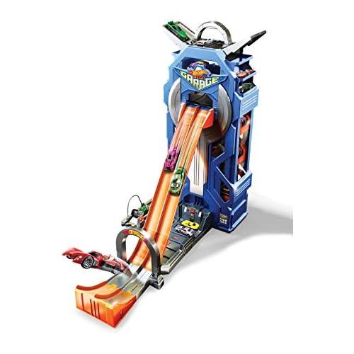 chollos oferta descuentos barato Hot Wheels Supergaraje garaje para coches de juguete Mattel GWT34 Embalaje sostenible
