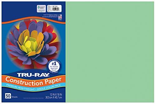 Pacon Tru-Ray Construction Paper, 76 lbs., 12 x