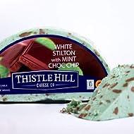 igourmet White Stilton DOP with Mint Chocolate Chip (7.5 ounce)