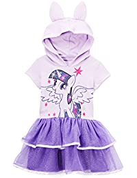 Girls' Dress with Ruffles and Wings