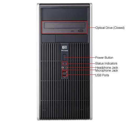 Hp compaq dc5700 pci device