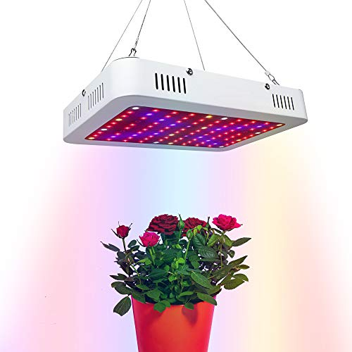 Aogled Grow Light,1200W LED Grow Lights for Indoor Plants Full Spectrum,Double Chips Plant Grow Lights with Daisy Chain for Commercial Planting Greenhouse Hydroponic Veg (100W Equivalent 1200W HPS/MH)