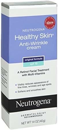 Neutrogena Healthy Skin Anti-Wrinkle With Sunscreen SPF 15 1.40 oz (Pack of 9)