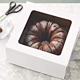 Wilton 12-Inch Cake Boxes with Windows for