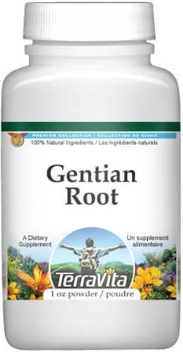 Gentian Root Powder (1 oz, ZIN: 511299)
