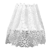 Heritage Lace Glisten 60-Inch by 18-Inch White Four Way
