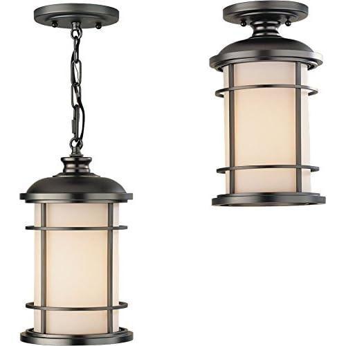 lighthouse outdoor lighting decorative feiss ol2209bb lighthouse outdoor lighting pendant lantern bronze 1light 7 lighting amazoncom