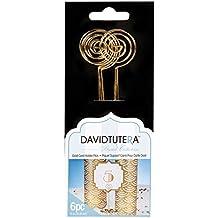 David Tutera Card Holder Picks - Gold - 6 inches - 6 pieces