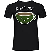 graphke Drink Me Happy Coffee Cup Men's T-Shirt