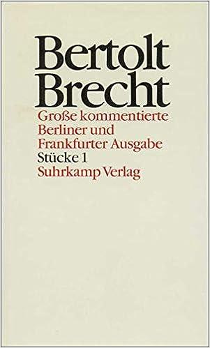 Bertolt Brecht Leben Werk Wirkung Suhrkamp