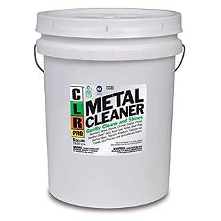 CLR PRO Metal Cleaner, Non-Corrosive, 5 Gallon Pail