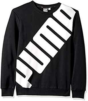 PUMA Men's Big Logo Crewneck Sweatshirt