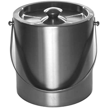 Amazon Com Mr Ice Bucket 260 1 Brushed Stainless Steel