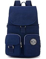 Tiny Chou Mini Waterproof Nylon Backpack Casual Lightweight Shoulder Daypack