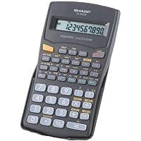 Sharp EL501WBBK 10 Digit 131 Function Calculator.