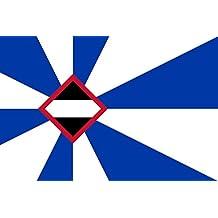 Borsele | Borsele, Zeeland, the Netherlands | Borsele, Zélande, les Pays-Bas | Borsele, Zeeland, Nederland Bandera | bandera paisaje | 0.06m² | 20x30cm para Diplomat-Flags Banderas de C