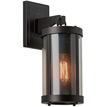 this item light outdoor wall sconce oil rubbed bronze contemporary sconces home depot black