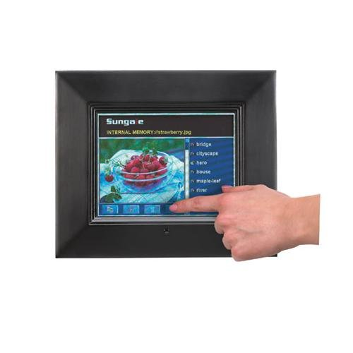 Sungale ID800T 8-Inch Digital Touch Screen Picture Frame (Black)