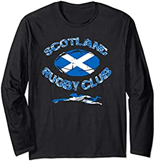[Featured] Rugby Team Scotland Country Rugby Club Rugby Tournament Long Sleeve in ALL styles | Size S - 5XL