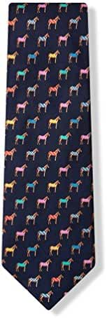 Horse Blankets Tie By Alynn Novelty In Silk
