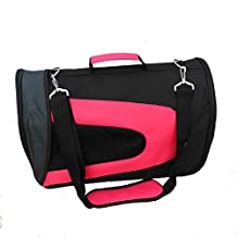 Portable Soft Sided Travel Pet Carrier Duffle Bags For Dog Cat Puppies Airline Proved Pet Bag
