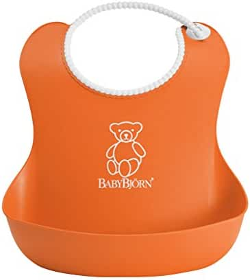 BABYBJORN Soft Bib - Orange