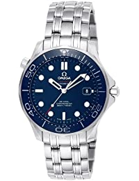 Men's 212.30.41.20.03.001 Seamaster Diver 300m Co-Axial Automatic Swiss Automatic Silver-Tone Watch