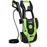 PowRyte Elite 2100 PSI 1.80 GPM Electric Pressure Washer, Electric Power Washer with 5 Quick-Connect Spray Tips and Onboard Detergent Tank (Power Wash Machine, Presser Cleaner, Car Washer)