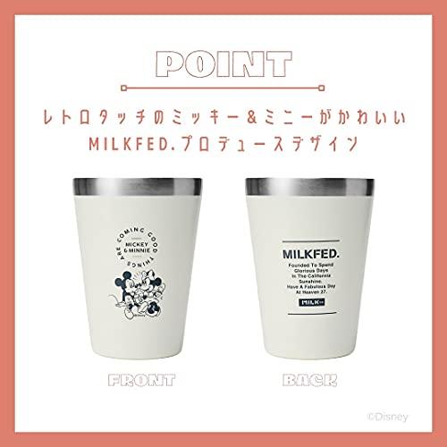 Disney CUP COFFEE TUMBLER BOOK MICKEY & MINNIE produced by MILKFED. 付録