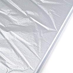 Seidenpapier zur Dekoration zum Verpacken und zum Pompoms basteln Streifen schwarz wei/ß 10 Blatt 50x70cm