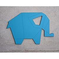 Lámpara de pared para cuarto de bebe o habitación infantil, Luz de noche, Diseño de elefante. Luz nocturna