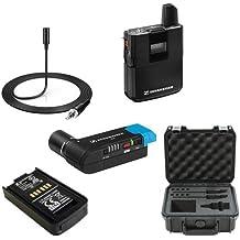 Sennheiser AVX Camera-Mountable Lavalier Pro Digital Wireless Set (MKE2 Lavalier) Bundle with SKB Waterproof Case and BA20 Recharging Battery Pack