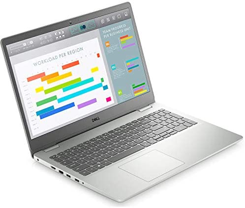 Dell Inspiron Laptop (2021 Latest Model), 15.6″ FHD Display, AMD Ryzen 3 3250U Processor, AMD Radeon Vega 3 Graphics, 16GB RAM, 512GB SSD, Fingerprint Reader, Webcam, HDMI, Bluetooth, WiFi, Windows 10