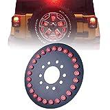 Omotor Spare Tire LED Third Brake Light for 2007-2017 Jeep Wrangler JK Tail Light Rear Light Assemblies Accessories