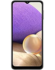 "Samsung Galaxy A32 (5G) 64GB 6.5"" Display Quad Camera Long Lasting Battery A326U Factory Unlocked Smartphone - Aura Black (Renewed)"