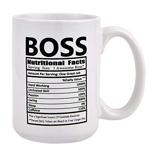 Funny Coffee Mug Boss